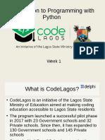 Code Lagos week 1