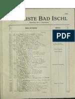 Kurliste Bad Ischl