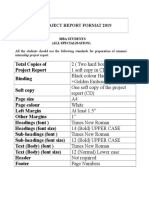 Sip- Project Report Format 2019
