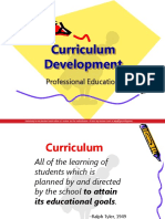 Prof Ed 2 - Curriculum Development