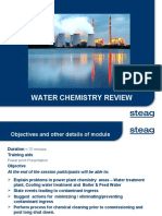 Water Chemistry Review