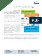 Edea - Reclamos via SMS Por Cortes de Energia