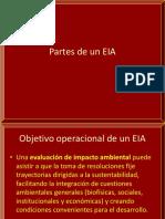 Partes de Un EIA