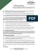 QMSL3-CorporatePolicy01-StaffRulesandRegulations