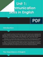 Comm.skills 1 Lessons