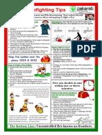 Basic Firefighting Tips 11.3.19