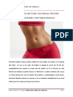 Accelereaza-ti Metabolismul - Sfaturi Utile