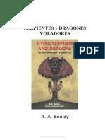 Boulay R a - Serpientes Y Dragones Voladores La Historia Del Pasado Reptiliano de La Humanidad