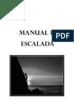 Manual de La Escalada Ejercito . Maquetacion Propia