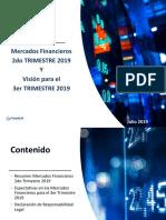 Analisis Mercados Financieros 2T19 - Vision Para El 3T2019