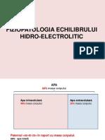 Dereglari hidro Electrolitice