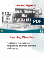 7 Structure and Agency