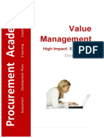 MS4000 Value Management Course Notes v2015.01.09