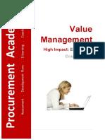 MS4000 Value Management Course Notes v2015.01.09