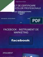 ATESTAT facebook instrument de marketing