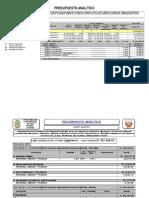 Presupuesto Analitico Ok