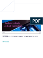 Lecture Notes in Medical Technology_ Lecture #2_ the Pituitary Gland_ the Adenohypophysis
