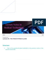 Lecture Notes in Medical Technology_ Lecture #6_ the PARATHYROID GLAND