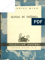 Glosas de Siguenza Gabriel Miro