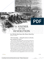 A Soldier of the Revolution - Prologue - Fall 2010