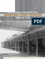 Census Schedule for Americans Living Overseas - Prologue - Fall 2010