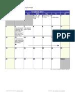December 2010 Calendar