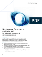 Workshop - Seguridad y Auditoria SAP