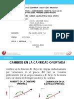 CAMBION EN LA CANTIDAD DE LA  OFERTA.pptx
