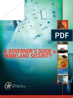 NGA Governor's Guide to Homeland Security