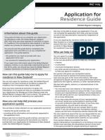 Application for Residence Guide