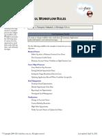 saleforce useful workflow rules