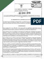 Ley del 22 de diciembre