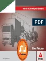 Manual de Garantia e Manutenção Euro III-V 2900.003.258.00.0 Esp Ed2