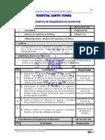 Procedimientos Almacen de Nutricion y Dietetica