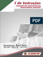 Manual de instrução TM 509  TM 510  TM 513