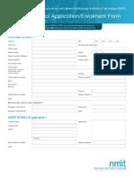 NMIT International Application Form 2018