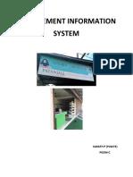 Sarath p p18273 (Management Information System Assignment)