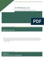 Ley Provincial 6321