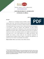 Destaques Brasileiros Na Abordagem Literária da Bíblia