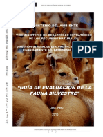 Propuesta Guía Evaluación Fauna Silvestre - Abr 2011