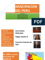 La Emancipación Del Perú