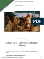 Estudio Sobre – La Parábola de Las Diez Vírgenes – Estudia La Biblia