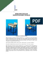 Catalogo Mobiliario Escolar 2011