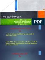 Time Scale in Physics