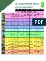 Calendario Forestal 2019