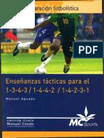 Enseñanzas tacticas para el 1-3-4-3,1-4-4-2,1-4-2-3-1_1