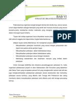 6. Bab Vi Struktur Organisasi