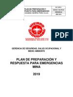 Respuesta emergencia mineria