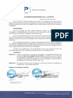 Lineas de Investigación USP PostGrado 2019.