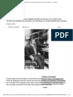 Biografía Acercará El Legado de Marcus Garvey a Los Niños Ticos - La Nación